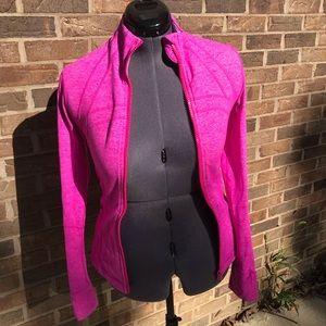 Lululemon Define Jacket, Heather Pink Sz 6 EUC